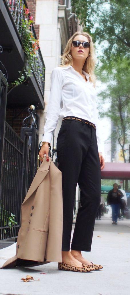 biała koszula dla kobiet do pracy