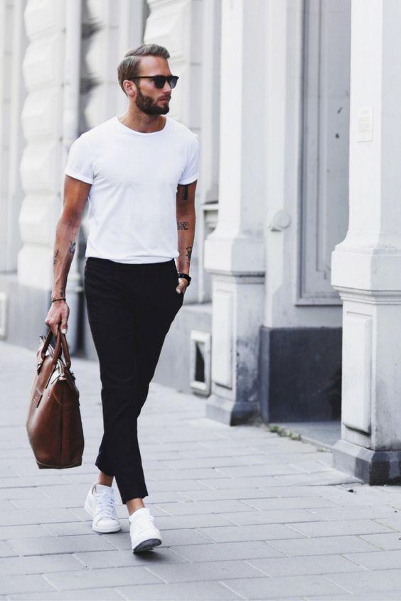 torba w męskiej stylizacji