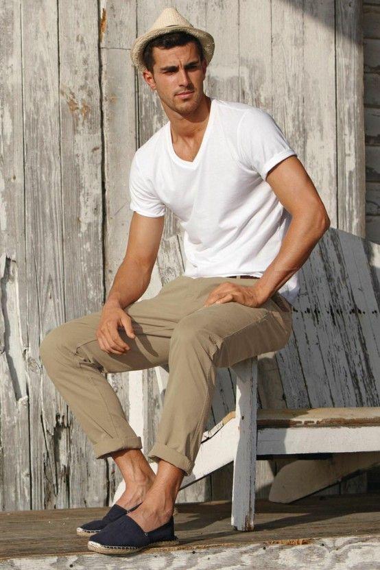 męskie spodnie chinosy