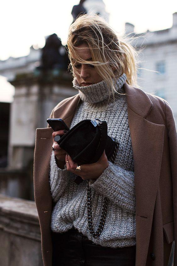 sweter damski oversize